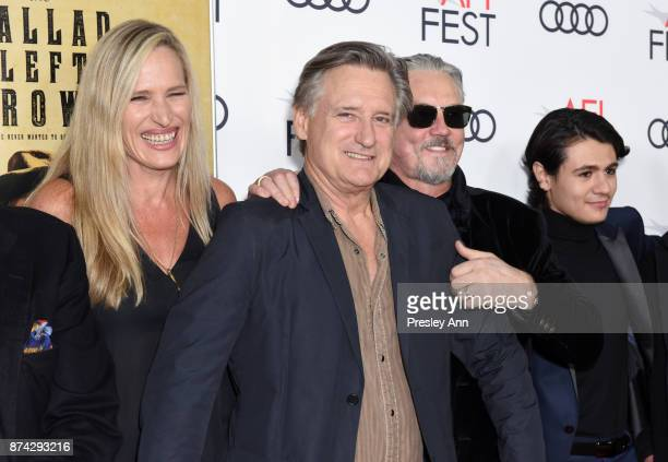 Dina Livingston Bill Pullman Tommy Flanagan and Diego Josef attend the screening of 'Ballad Of Lefty Brown' at AFI FEST 2017 Presented By Audi at the...