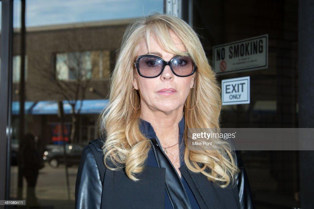 Dina Lohan Court Appearance : News Photo