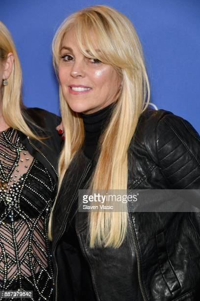 Dina Lohan attends DailyMailcom DailyMailTV Holiday Party with Flo Rida on December 6 2017 at The Magic Hour in New York City