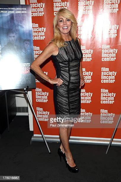 Dina Lohan attends the The Canyon premiere at The Film Society of Lincoln Center Walter Reade Theatre on July 29 2013 in New York City