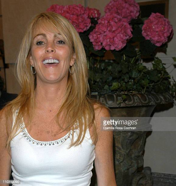 Dina Lohan during Dina Lohan Sighting in New York City June 8 2005 at Street of New York City in New York City New York United States