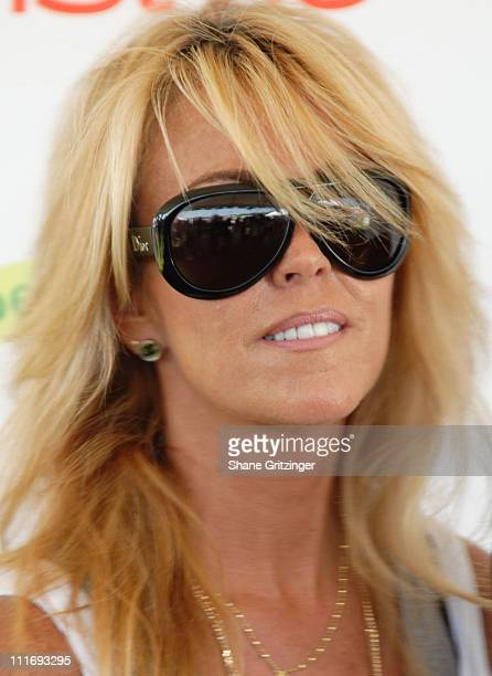 Dina Lohan during Kelly Ripa Donna Karan and InStyle Magazine Host Super Saturday 9 To Benefit The Ovarian Cancer Research Fund at Nova's Ark Project...