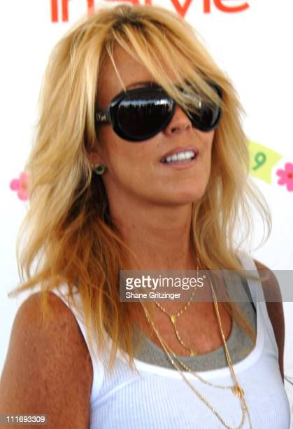 """Dina Lohan during Kelly Ripa, Donna Karan, and InStyle Magazine Host """"Super Saturday 9"""" To Benefit The Ovarian Cancer Research Fund at Nova's Ark..."""