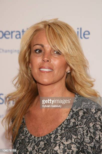 Dina Lohan during Operation Smile's The Smile Collection at Skylight Studios in New York, NY, United States.
