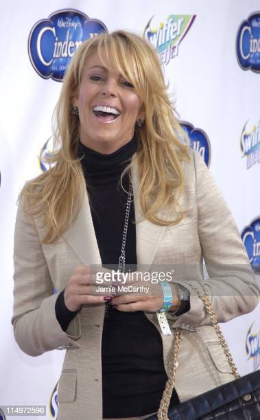 Dina Lohan during Swiffer Wetjet Presents the Cinderella DVD Release and Royal Ball Red Carpet at Ziegfeld Theatre in New York City New York United...