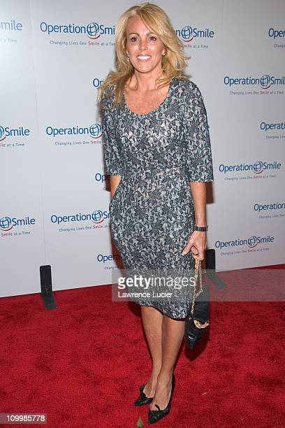Dina Lohan during The Smile Collection - Operation Smile's Annual Charity Dinner and Live Auction at Skylight Studios in New York, NY, United States.