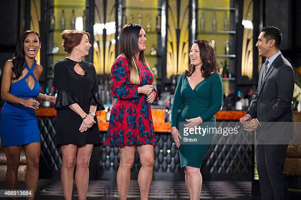 MATCHMAKER 'Dina Lohan Peter Marc Jacobson' Episode 815 Pictured Candace Smith Jill Zarin Patti Stanger Fran Drescher David Cruz