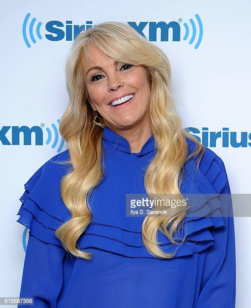 Dina Lohan visits the SiriusXM Studio on March 14 2016 in New York City