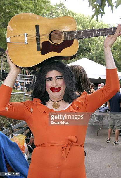 Dina Martina during Wigstock Festival 2005 at Tompkins Square Park in New York City, New York, United States.