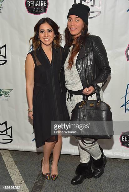 Dina Marto and Jennifer Goicoechea attend the City of Atlanta proclamaton ceremony at Twelve Studios on February 16 2015 in Atlanta Georgia