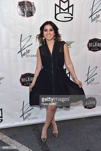 Dina Marto attends Proclamation Ceremony Toast For Twelve Studios at Twelve Studios on February 16 2015 in Atlanta Georgia