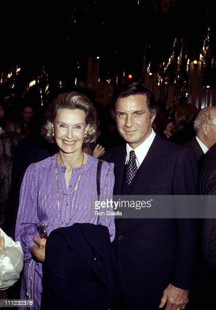 """Dina Merrill and Cliff Robertson during Celebration of the 2000th Episode of """"The Merv Griffin Show"""" at Lincoln Center in New York City, New York,..."""