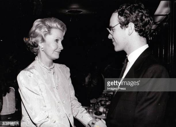 Dina Merrill and Prince Albert at a premiere party for On Your Toes circa 1983 in New York