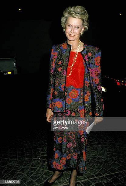 Dina Merrill during 1988 The American Soviet Film Initiative Tribute at Bel Age Hotel in Hollywood, California, United States.