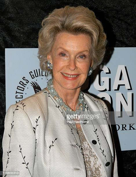 """Dina Merrill during 4th Annual """"Directors Guild of America Honors"""" - New York at Waldorf Astoria in New York City, New York, United States."""
