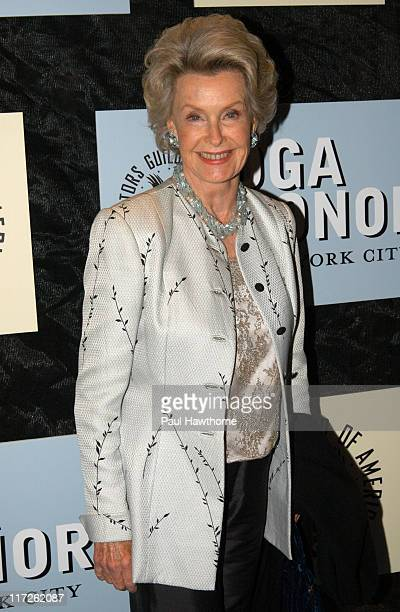 Dina Merrill during 4th Annual Directors Guild of America Honors - New York at Waldorf Astoria in New York City, New York, United States.
