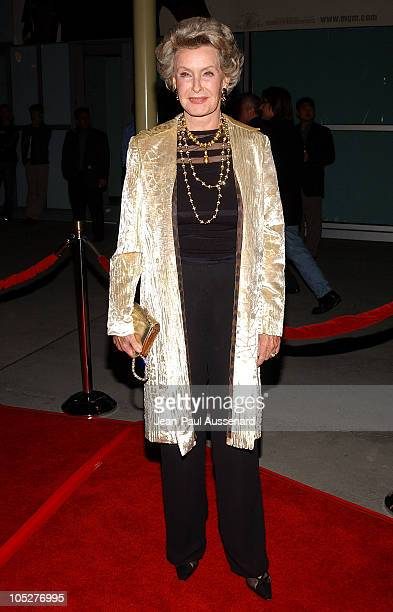Dina Merrill during Shade World Premiere Arrivals at Arclight Cinemas in Hollywood California United States