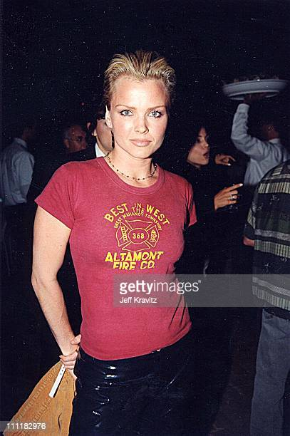 Dina Meyer at the 1999 party for Spike Radio in Los Angeles