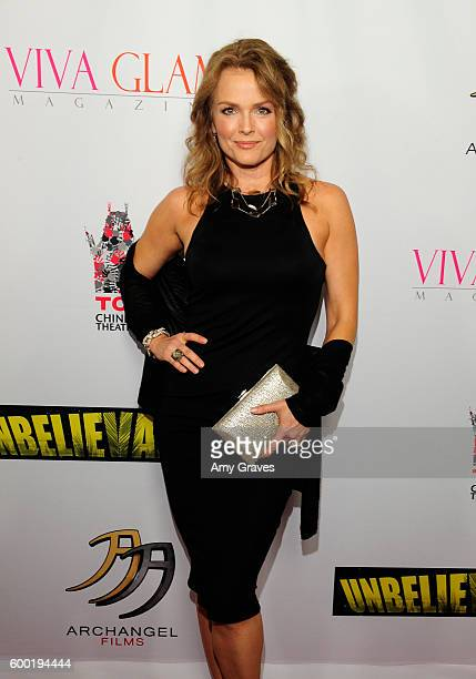 Dina Meyer attends the Sneak Peek World Premiere of Unbelievable The Movie at Mann's Chinese Theater on September 7 2016 in Hollywood California