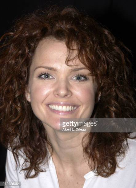 Dina Meyer during Creation Entertainment's Comic Book and Pop Culture Convention Day Three at Pasadena Convention Center in Pasadena California...