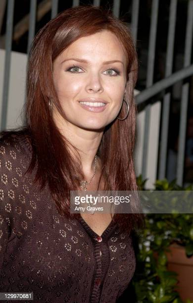 Dina Meyer during ET/GLAMOUR Emmy Party Celebrating a Night of GLAMOUR on Sunset at Mondrian Hotel in West Hollywood California United States