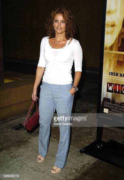 Dina Meyer during Wicker Park Premiere Arrivals at Egyptian Theatre in Hollywood California United States