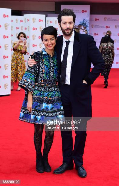 Dina Mousawi and Jim Sturgess arriving at the National Television Awards 2017 held at The O2 Arena London PRESS ASSOCIATION Photo Picture date 25th...
