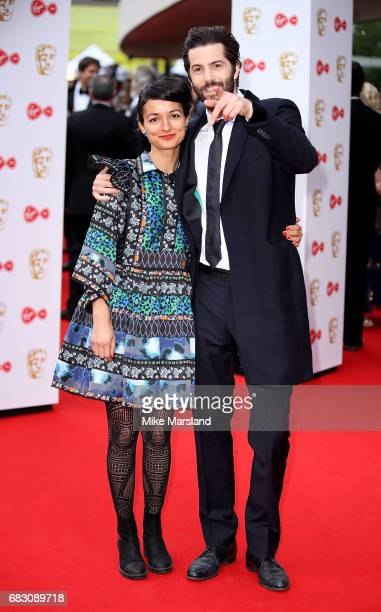 Dina Mousawi and Jim Sturgess attend the Virgin TV BAFTA Television Awards at The Royal Festival Hall on May 14, 2017 in London, England.