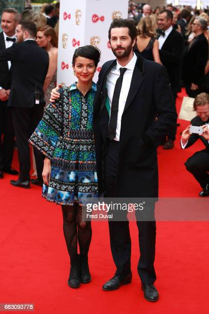 Dina Mousawi Jim Sturgess attend the Virgin TV BAFTA Television Awards at The Royal Festival Hall on May 14 2017 in London England
