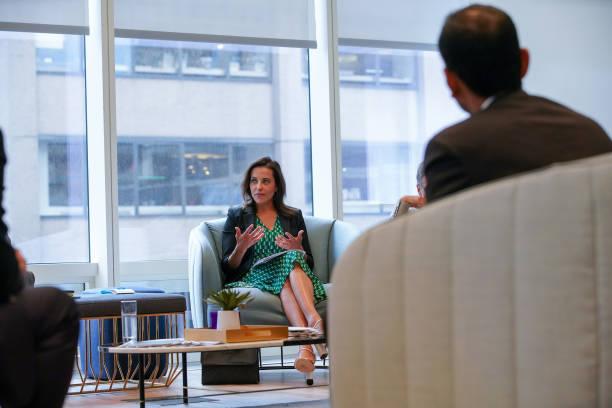 NY: Key Speakers At The Bloomberg New Economy Forum