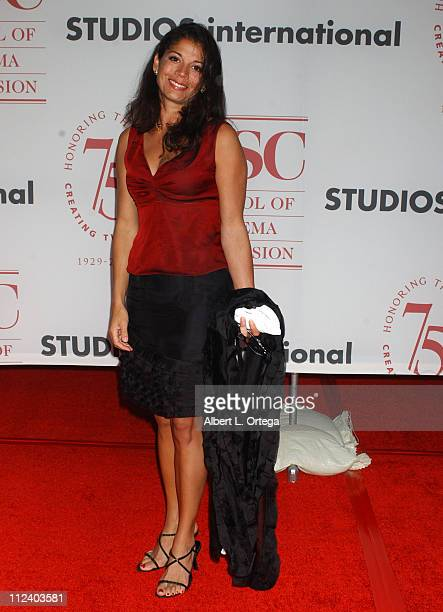 Dina RuizEastwood during 75th Diamond Jubilee Celebration for the USC School of Cinema Television Arrivals at USC's Bovard Auditorium in Los Angeles...