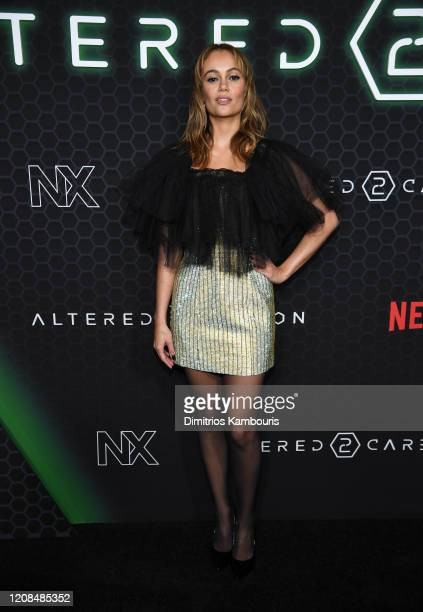 Dina Shihabi attends Netflix's Altered Carbon Season 2 Photo Call at AMC Lincoln Square Theater on February 24 2020 in New York City