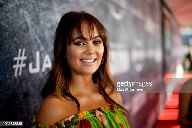Dina Shihabi attends the premiere of Tom Clancy's Jack Ryan at The Opening Night of Los Angeles Fleet Week 2018 at Battleship Iowa on August 31 2018...