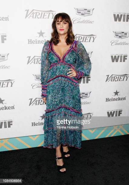 Dina Shihabi attends Variety and Women In Film's 2018 PreEmmy Celebration at Cecconi's on September 15 2018 in West Hollywood California