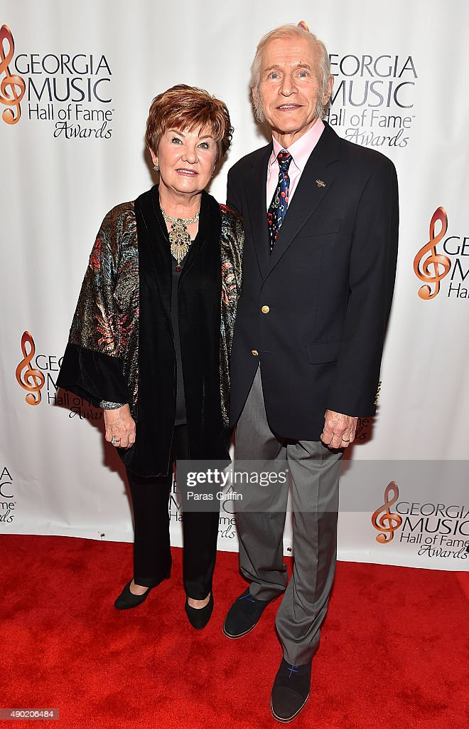 Dinah Gretsch and Fred Gretsch attend 2015 Georgia Music Hall Of Fame Awards at Georgia World Congress Center on September 26, 2015 in Atlanta, Georgia.