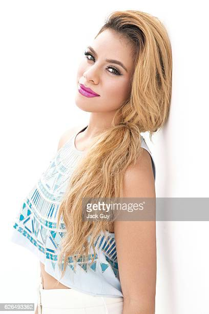 Dinah Hansen from pop group 5th Harmony is photographed for Forbes Magazine on September 1 2015 in Hollywood California PUBLISHED IMAGE