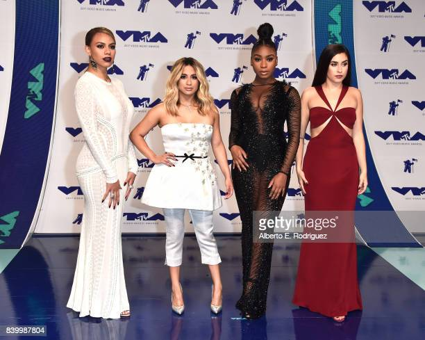 Dinah Jane Ally Brooke Normani Kordei and Lauren Jauregui of Fifth Harmony attends the 2017 MTV Video Music Awards at The Forum on August 27 2017 in...
