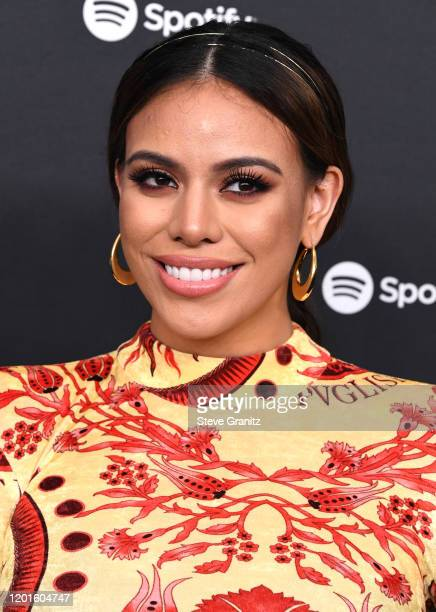 Dinah Jane arrives at the Spotify Best New Artist 2020 Party at The Lot Studios on January 23 2020 in Los Angeles California