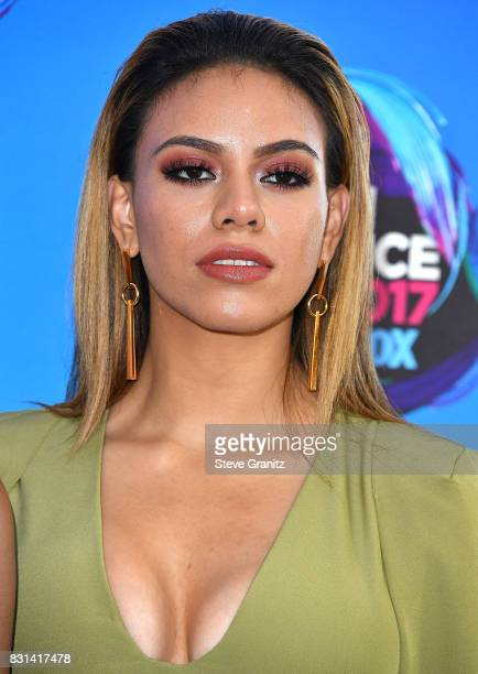 Dinah Jane arrives at the Teen Choice Awards 2017 at Galen Center on August 13 2017 in Los Angeles California