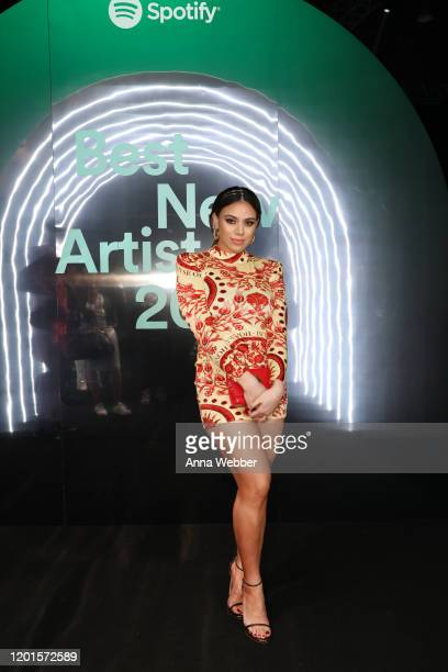 Dinah Jane attends Spotify Hosts Best New Artist Party at The Lot Studios on January 23 2020 in Los Angeles California