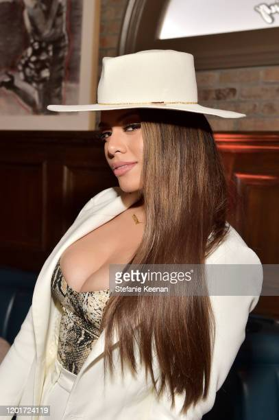 Dinah Jane attends the 3rd Annual Women in Harmony PreGrammy Luncheon with Host Bebe Rexha on January 24 2020 in Los Angeles California