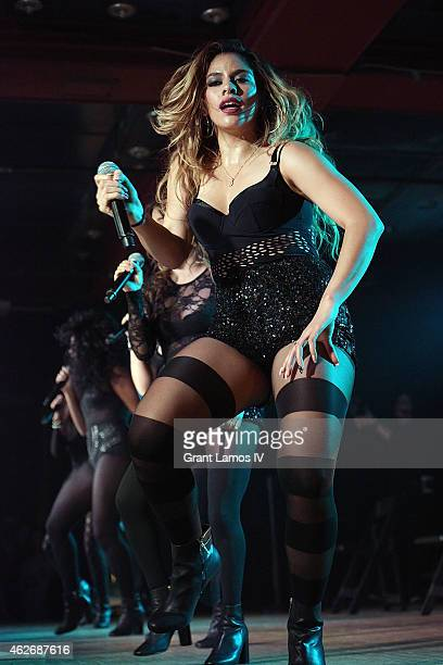 Dinah Jane Hansen of Fifth Harmony performs at Webster Hall on February 2 2015 in New York City