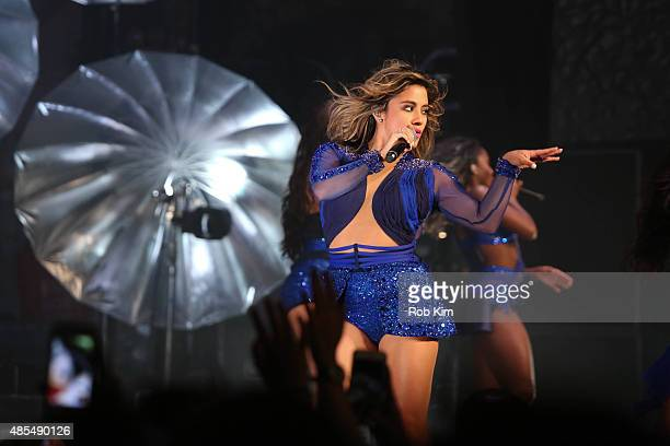 Dinah Jane Hansen of Fifth Harmony performs in concert at The Beacon Theatre on August 27 2015 in New York City