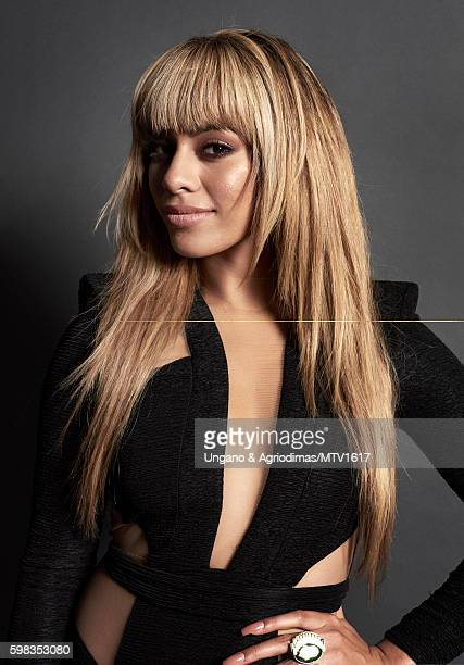 Dinah Jane Hansen of Fifth Harmony poses for a portrait at the 2016 MTV Video Music Awards at Madison Square Garden on August 28 2016 in New York City