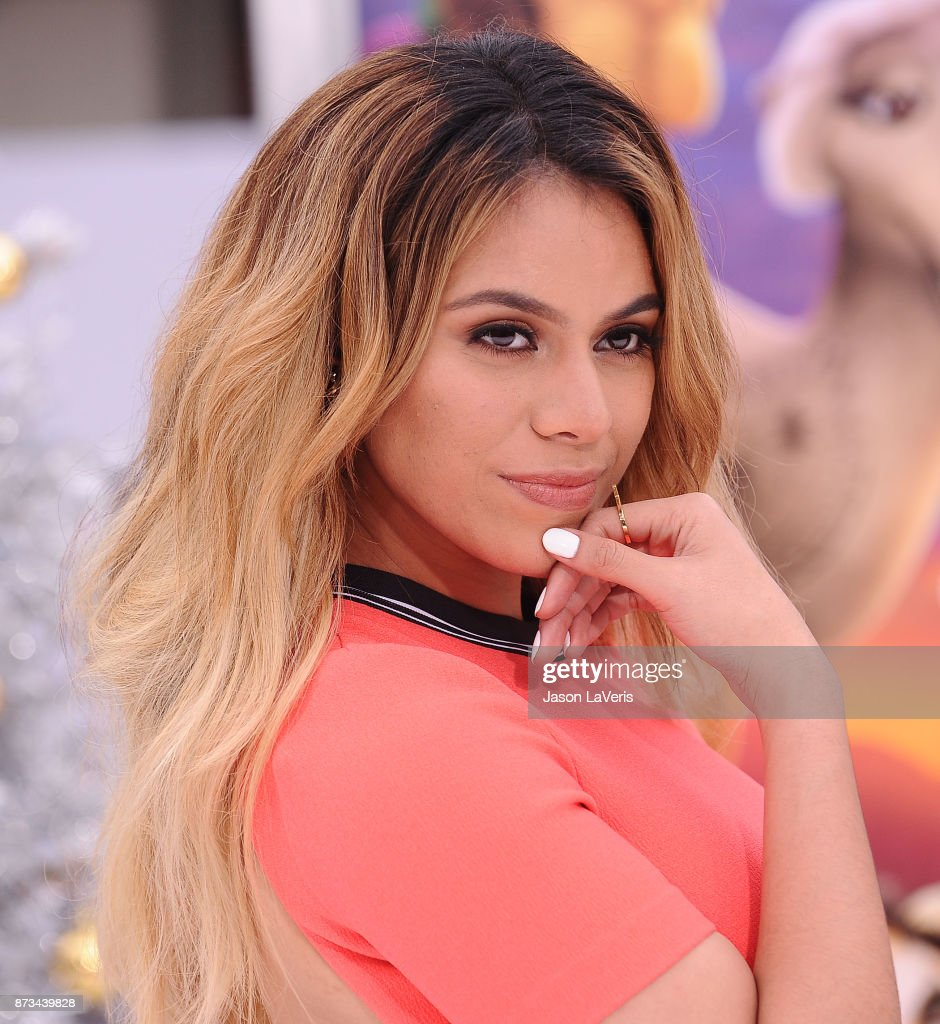 Dinah Jane of Fifth Harmony attends the premiere of 'The Star' at Regency Village Theatre on November 12, 2017 in Westwood, California.
