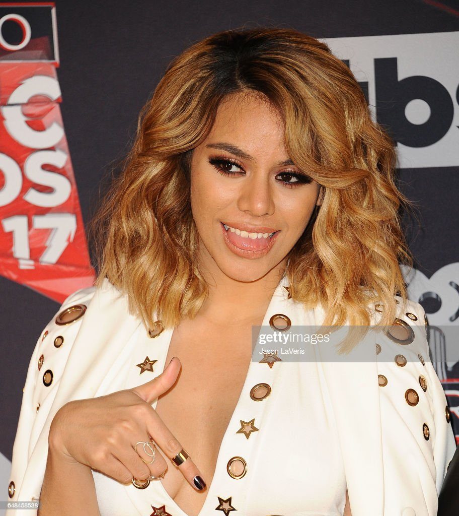 Dinah Jane of Fifth Harmony poses in the press room at the 2017 iHeartRadio Music Awards at The Forum on March 5, 2017 in Inglewood, California.