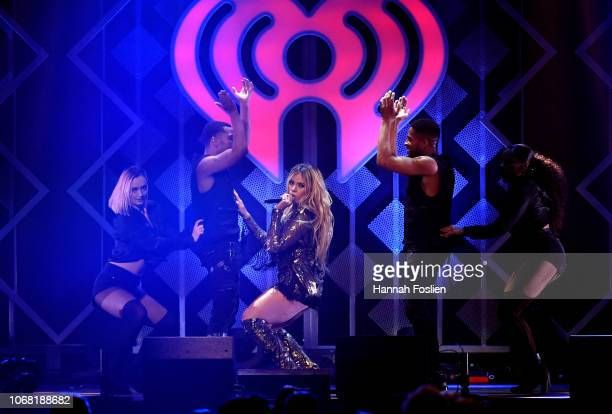 Dinah Jane performs onstage during 1013 KDWB's Jingle Ball 2018 at Xcel Energy Center on December 3 2018 in St Paul Minnesota