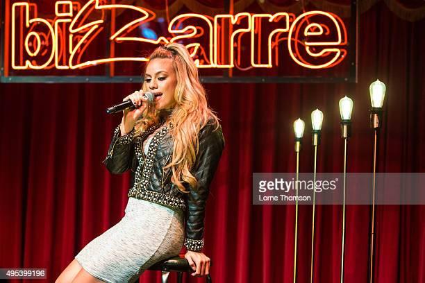 DinahJane Hansen of Fifth Harmony performs at Brooklyn Bowl on November 2 2015 in London England