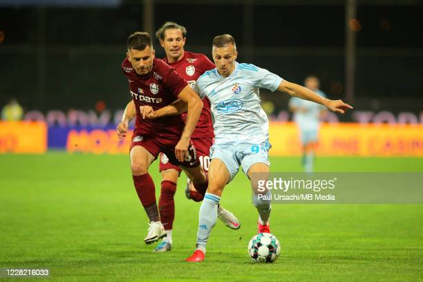 Dinamo Zagrebs Miroslav Tolic during UEFA Champions League Second Qualifying Round game between CFR Cluj and Dinamo Zagreb at Constantin Radulescu...