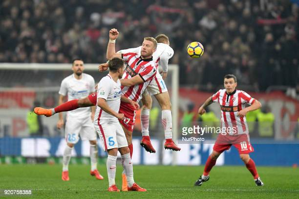 Dinamo's Adam Nemec during the Stage 25 of the Romanian First League Football match between Steaua Bucharest and Dinamo Bucharest at the National...